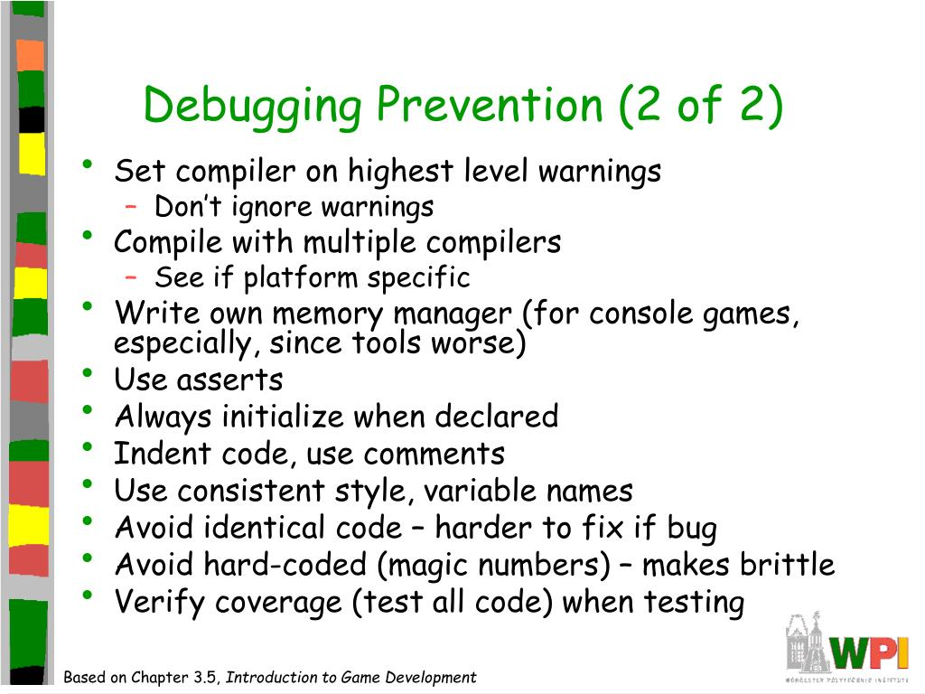 Debugging Prevention (2 of 2)