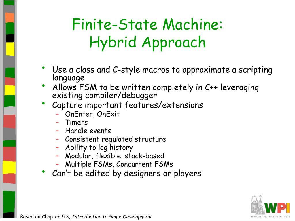 Finite-State Machine: