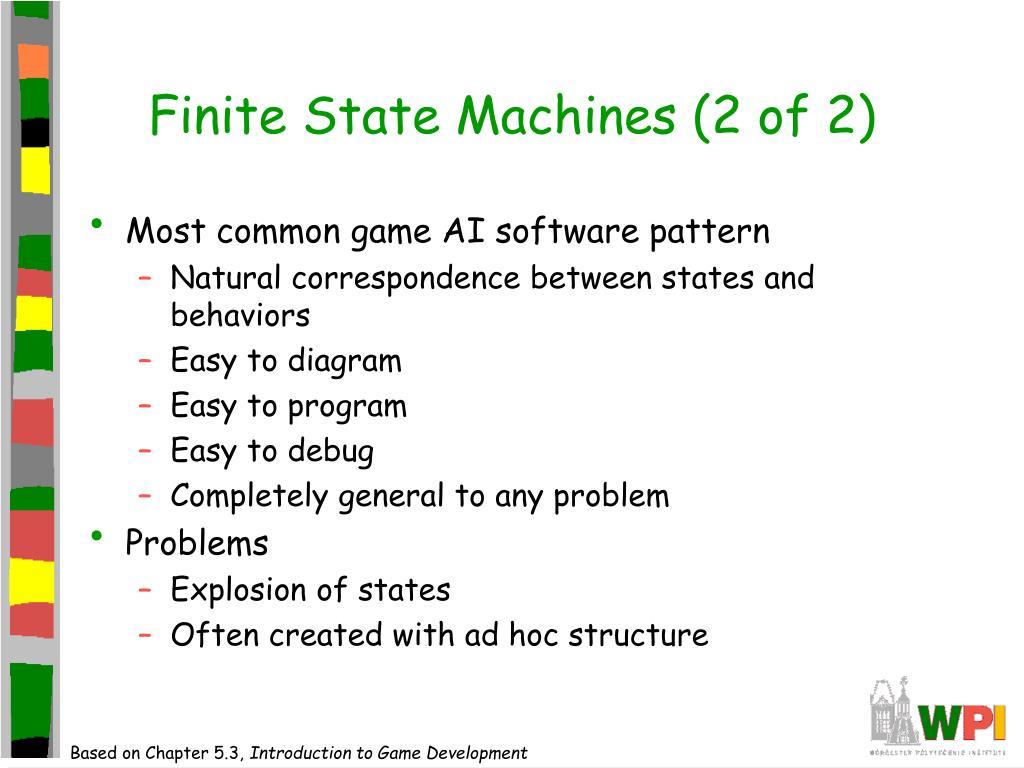 Finite State Machines (2 of 2)