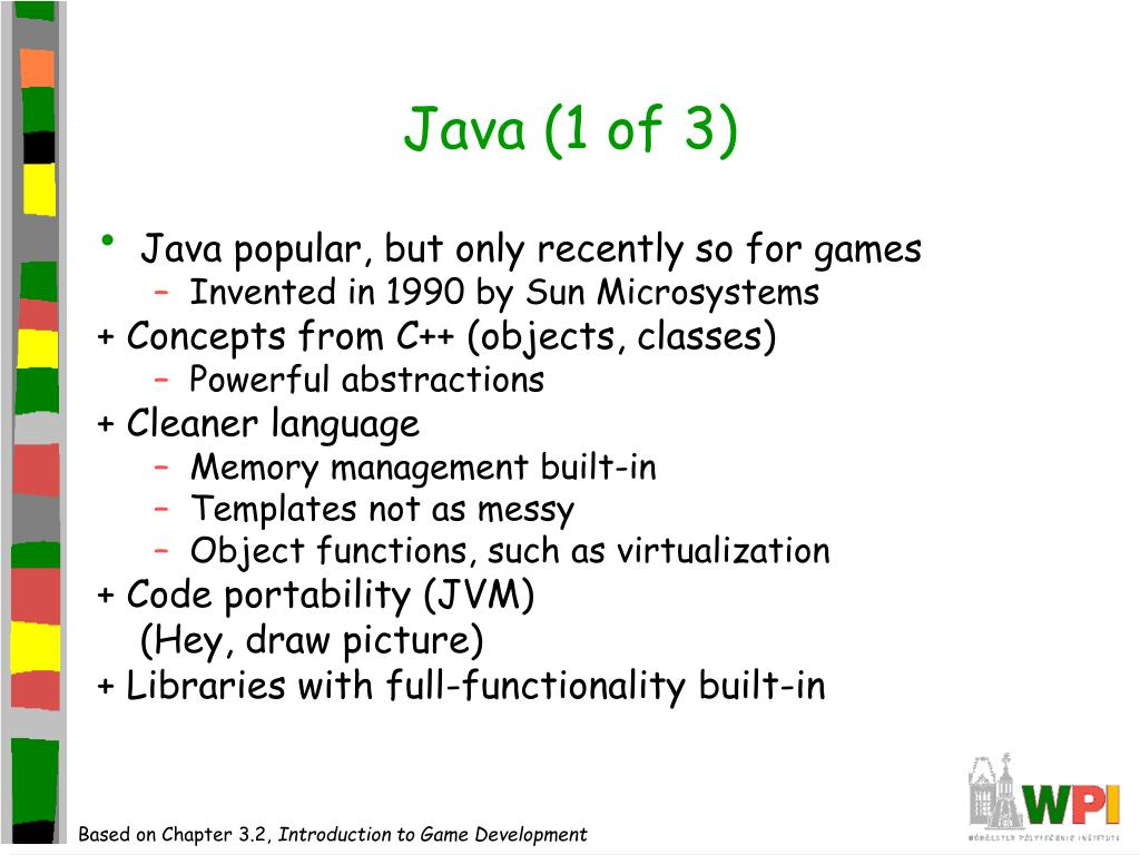 Java (1 of 3)