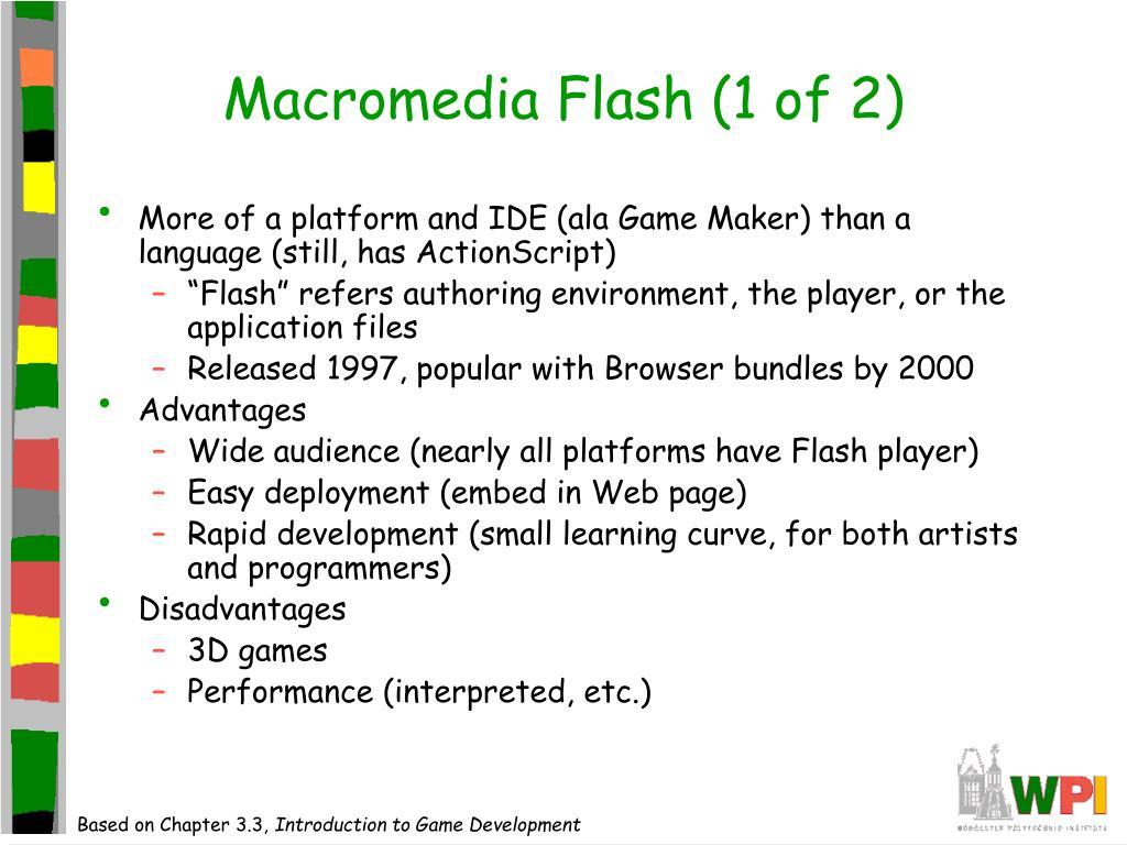 Macromedia Flash (1 of 2)