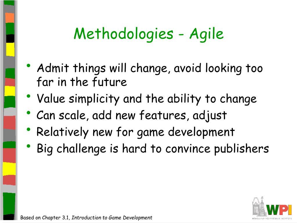 Methodologies - Agile