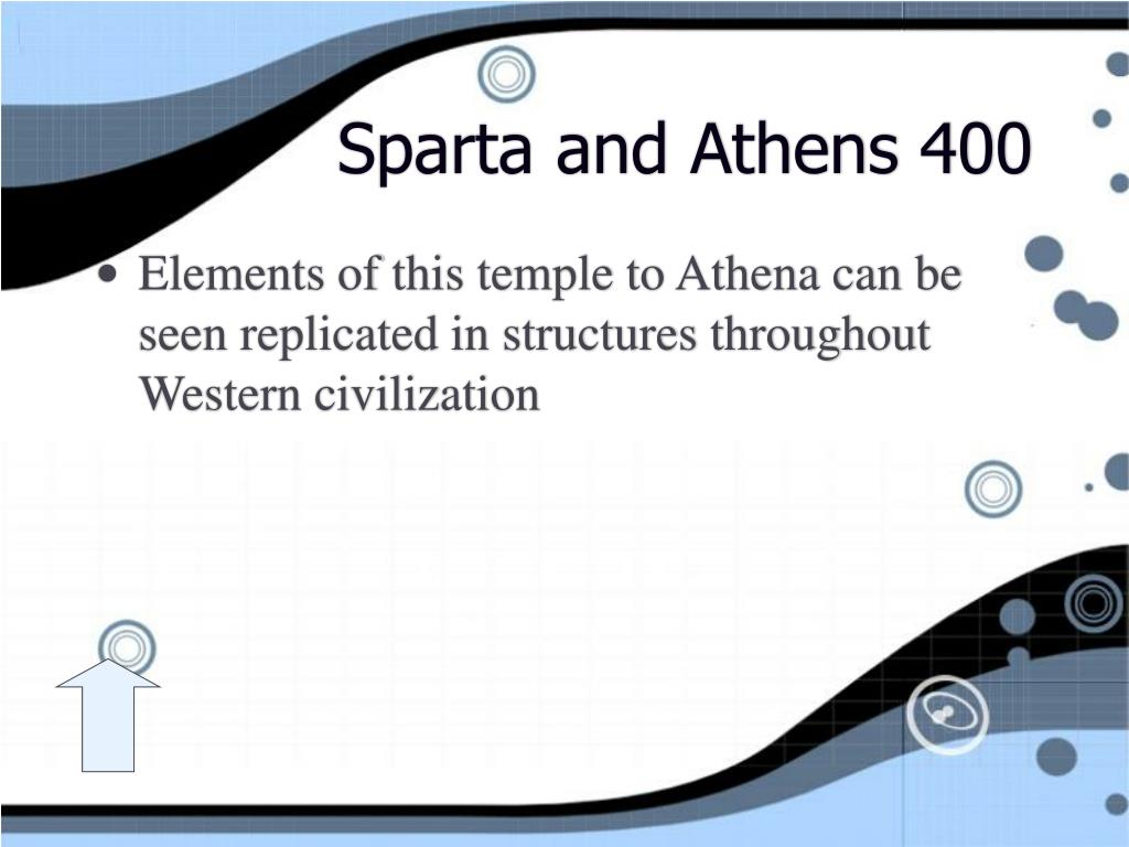 Sparta and Athens 400
