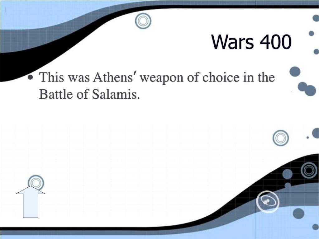 Wars 400
