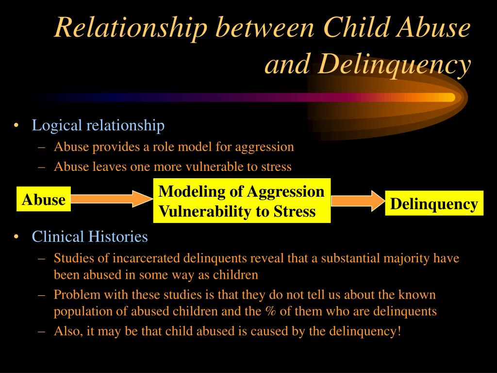 Relationship between Child Abuse and Delinquency