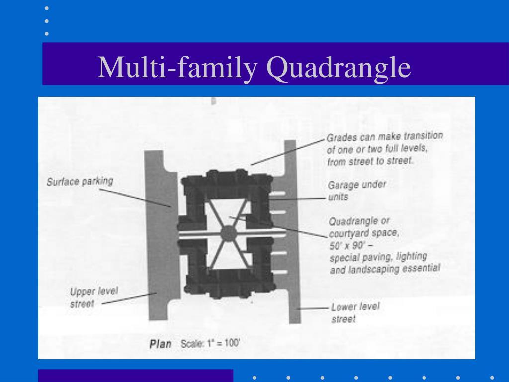 Multi-family Quadrangle