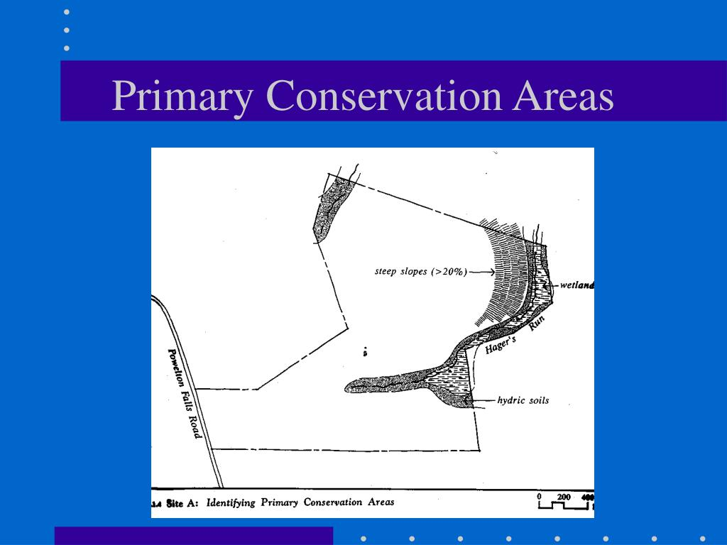 Primary Conservation Areas