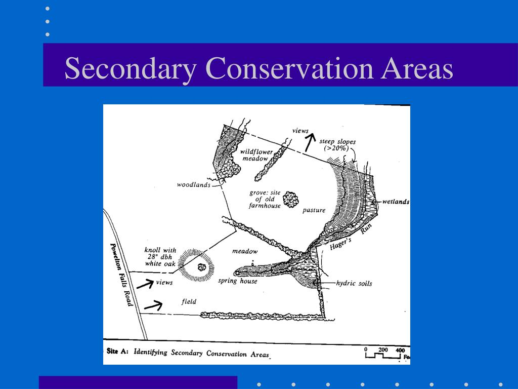 Secondary Conservation Areas