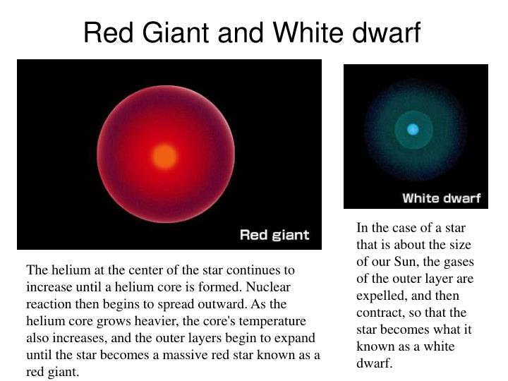 white dwarf red giant - photo #5