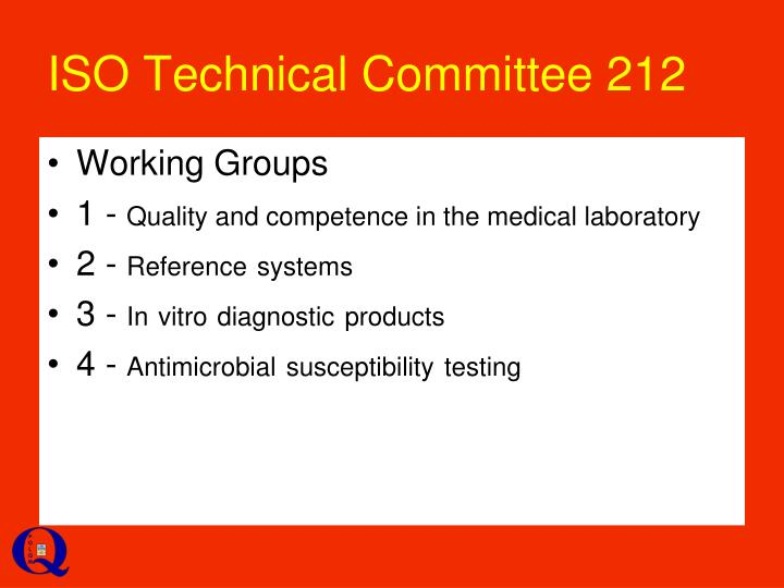 ISO Technical Committee 212