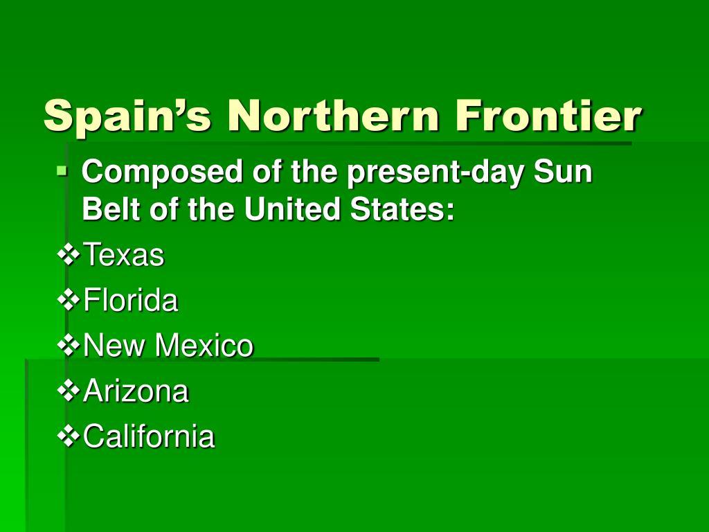 Spain's Northern Frontier