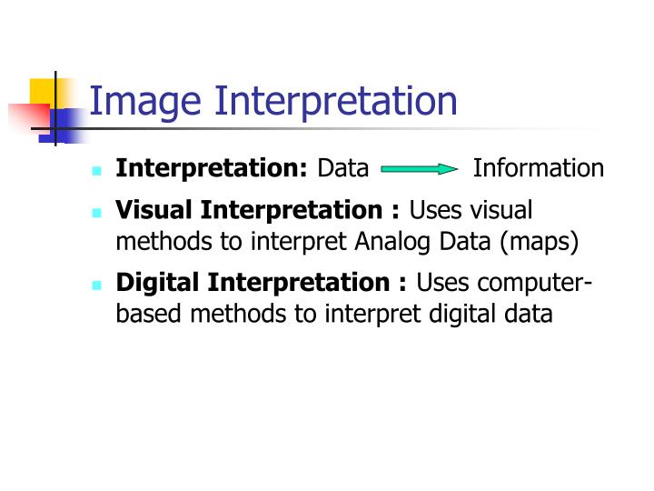 Image Interpretation