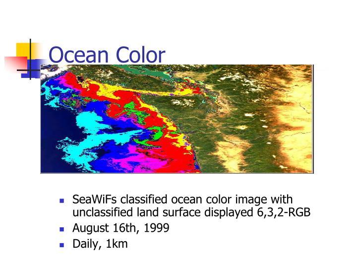 Ocean Color