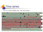time series