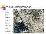 visual interpretation