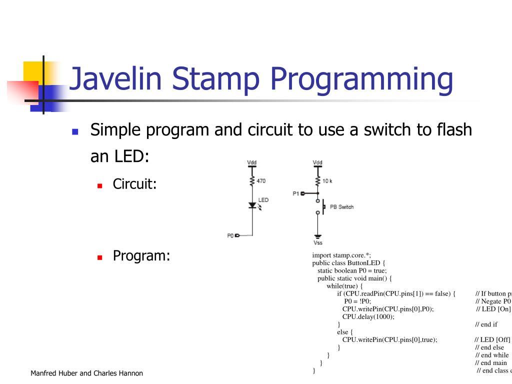 Javelin Stamp Programming