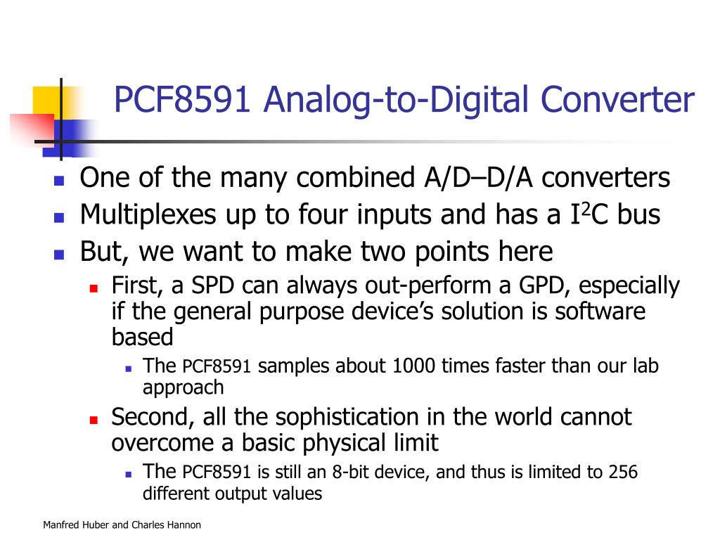 PCF8591 Analog-to-Digital Converter