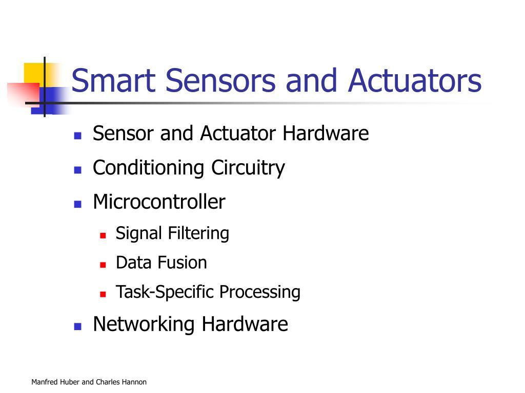 Smart Sensors and Actuators