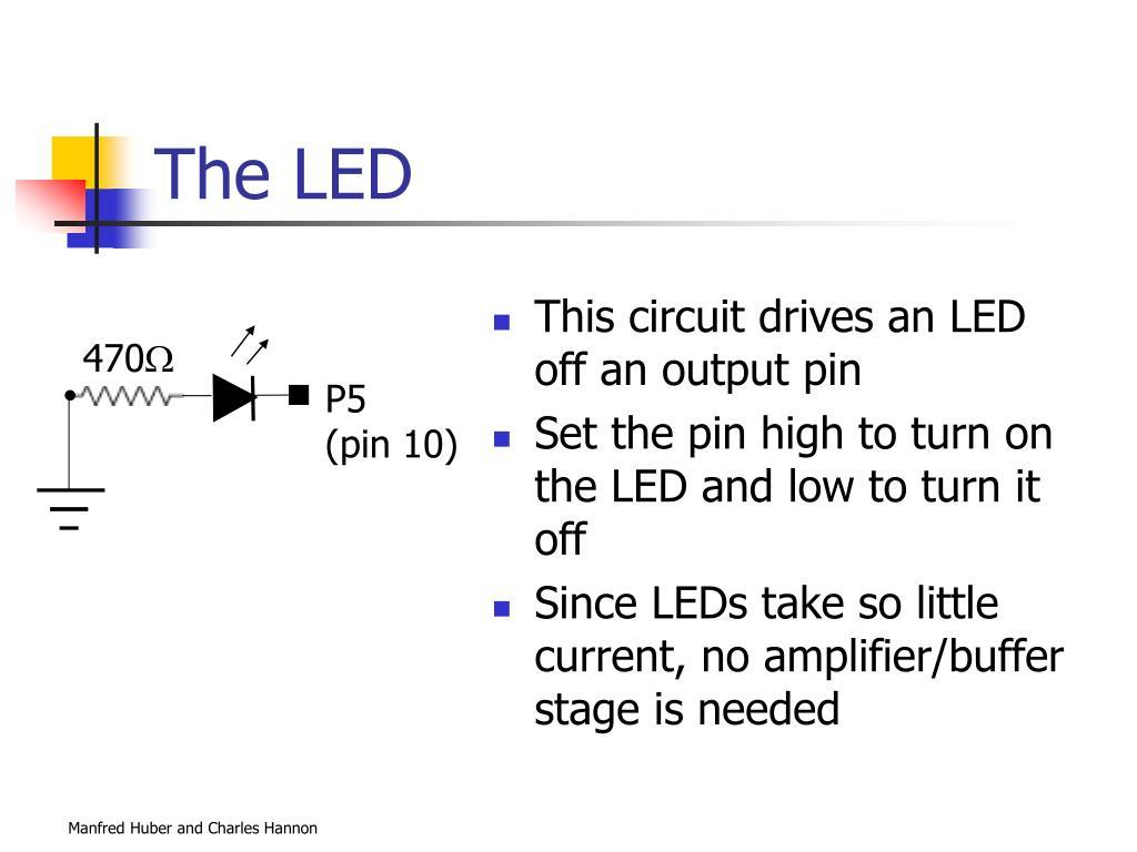 The LED