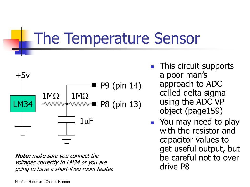The Temperature Sensor