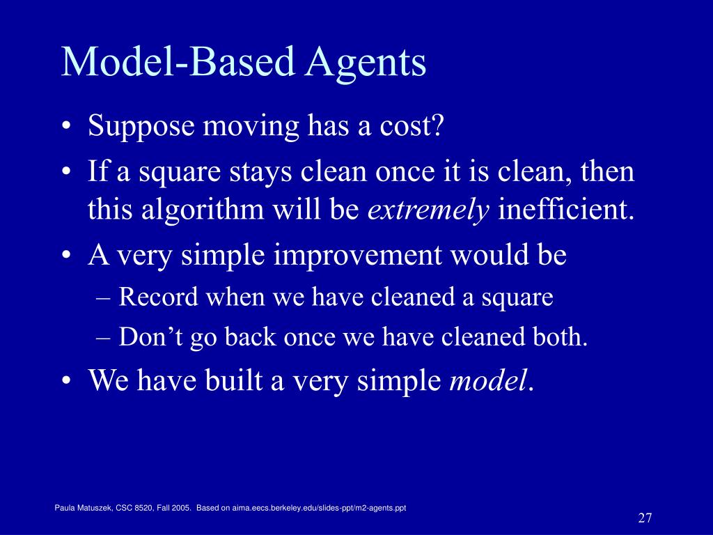 Model-Based Agents