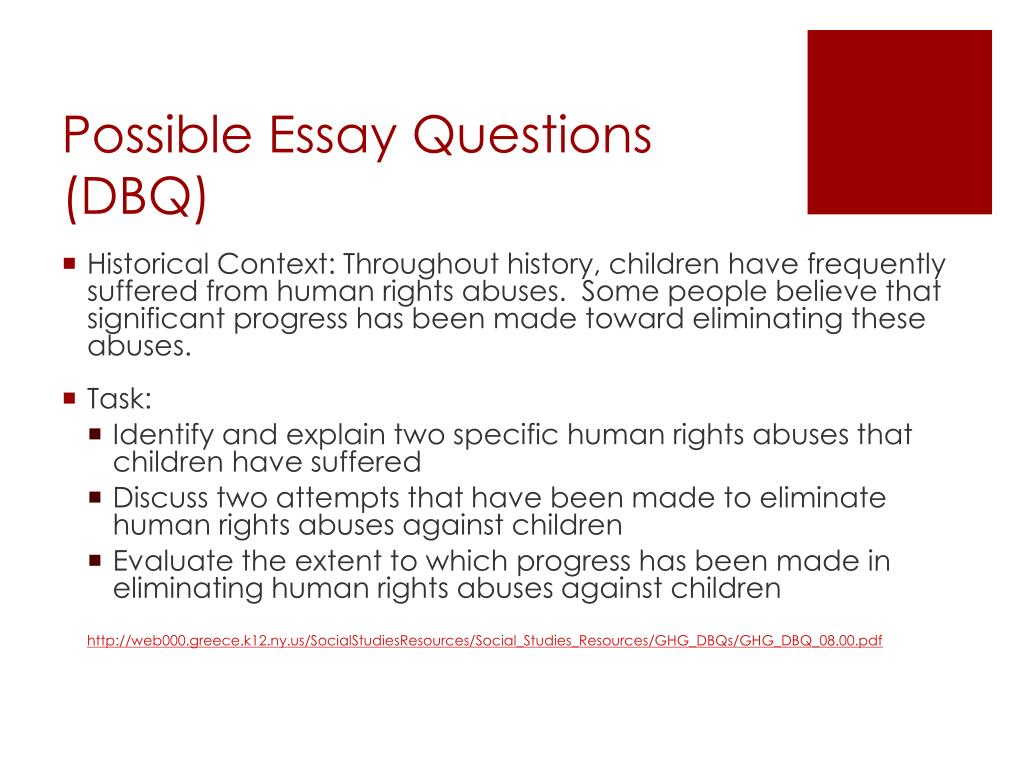Essay About Human Rights