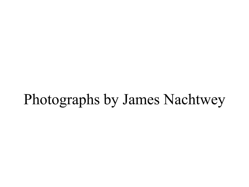 Photographs by James Nachtwey