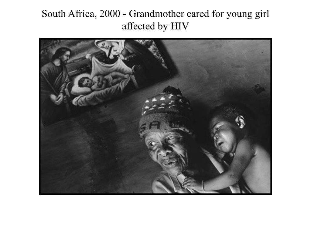 South Africa, 2000 - Grandmother cared for young girl affected by HIV