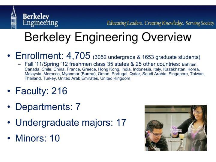 Berkeley Engineering Overview