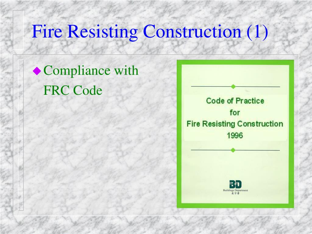 Fire Resisting Construction (1)