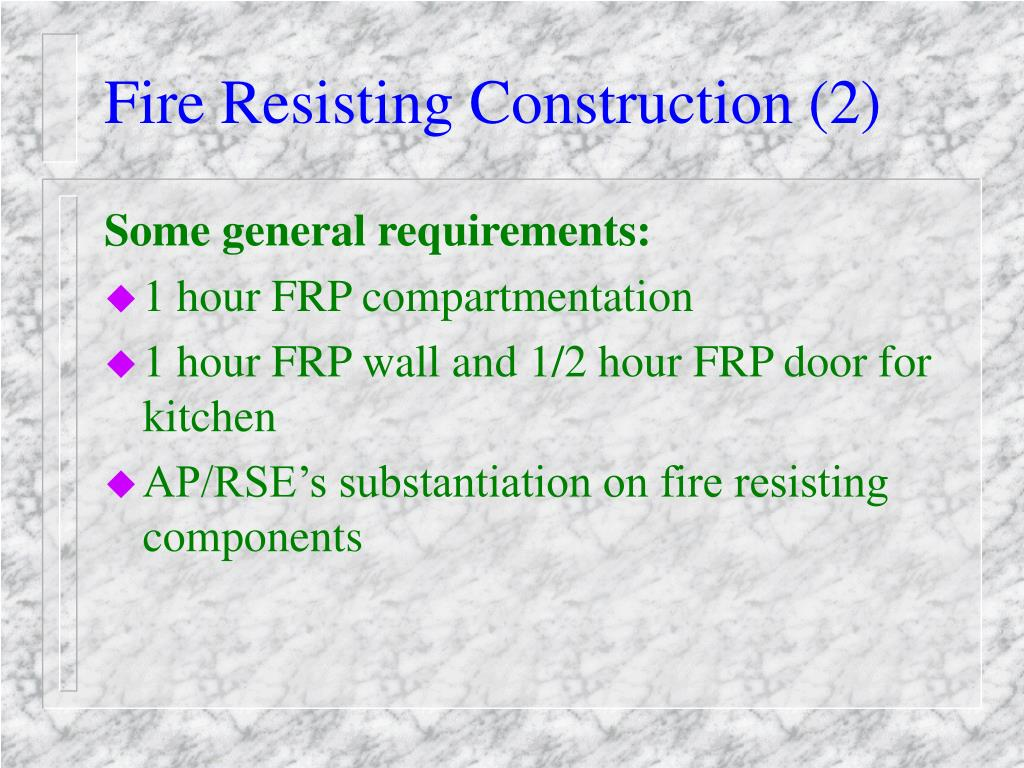 Fire Resisting Construction (2)