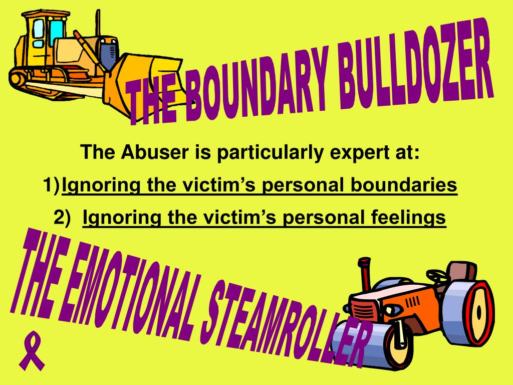 The Abuser is particularly expert at: