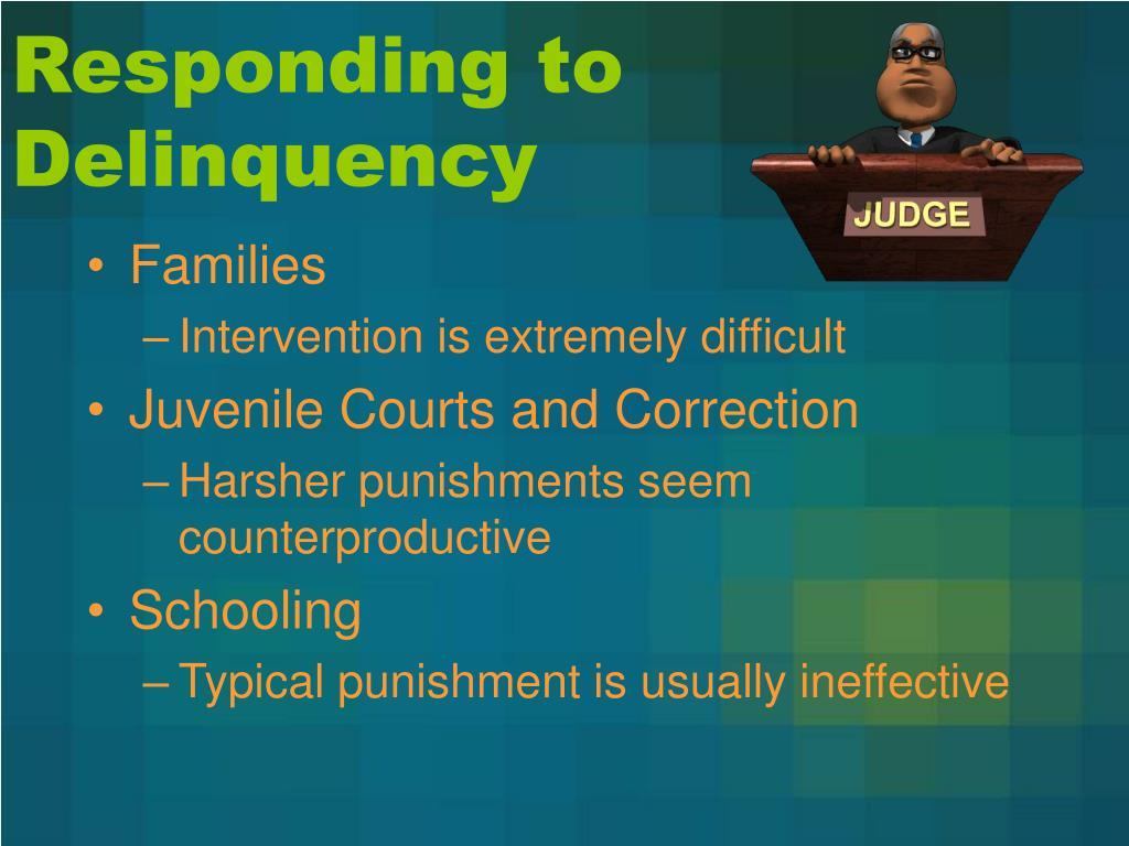 Responding to Delinquency