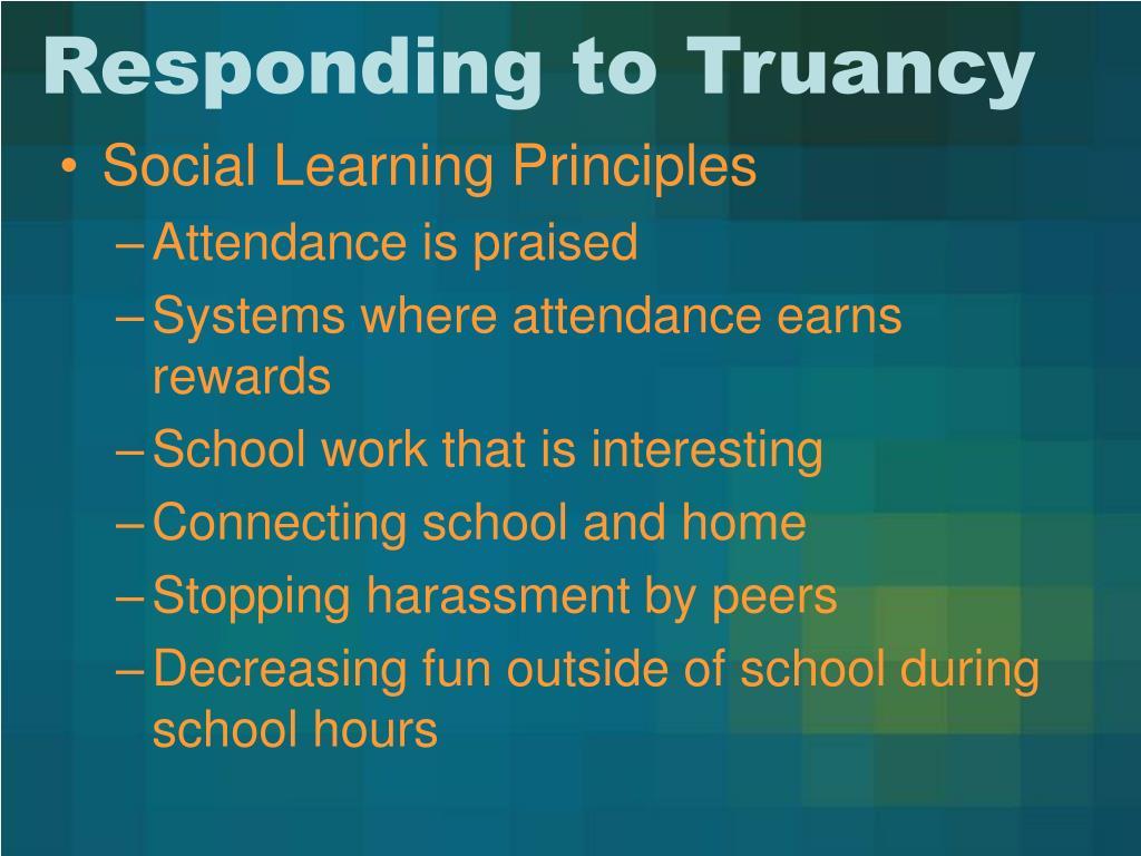 Responding to Truancy