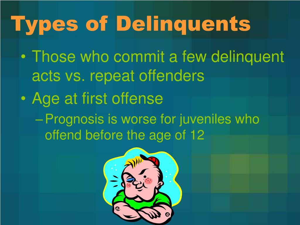 Types of Delinquents