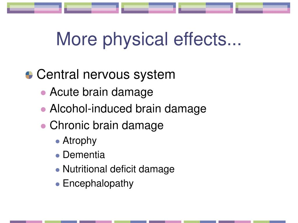 More physical effects...