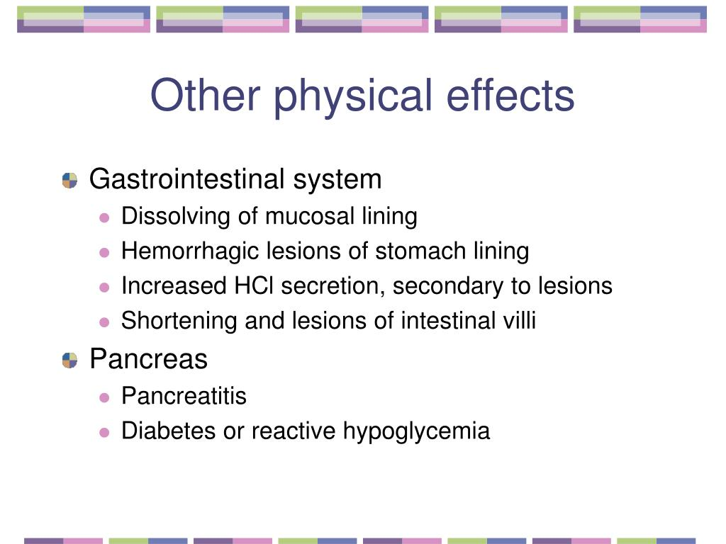 Other physical effects