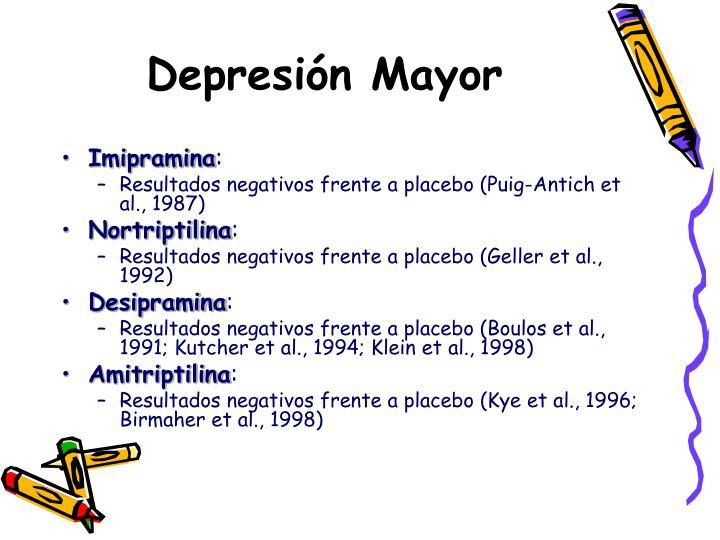 Depresión Mayor