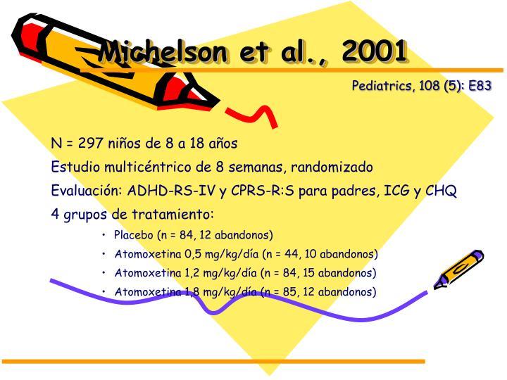 Michelson et al., 2001