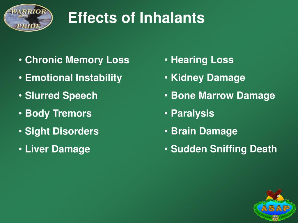 Effects of Inhalants