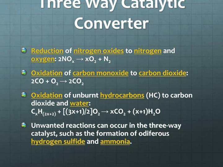 Three Way Catalytic Converter