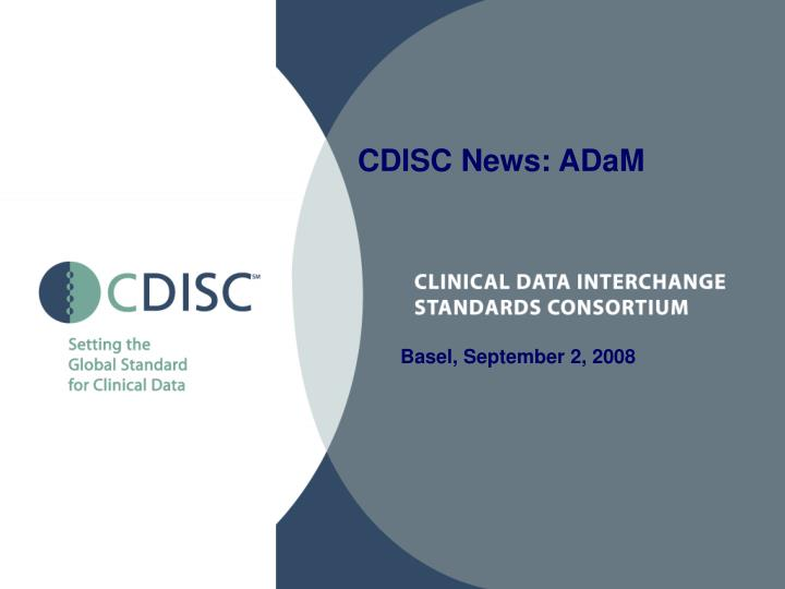 CDISC News: ADaM