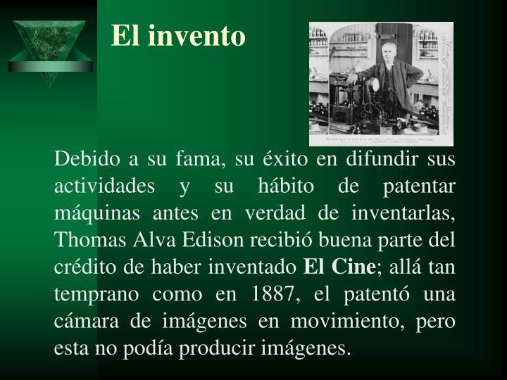 El invento