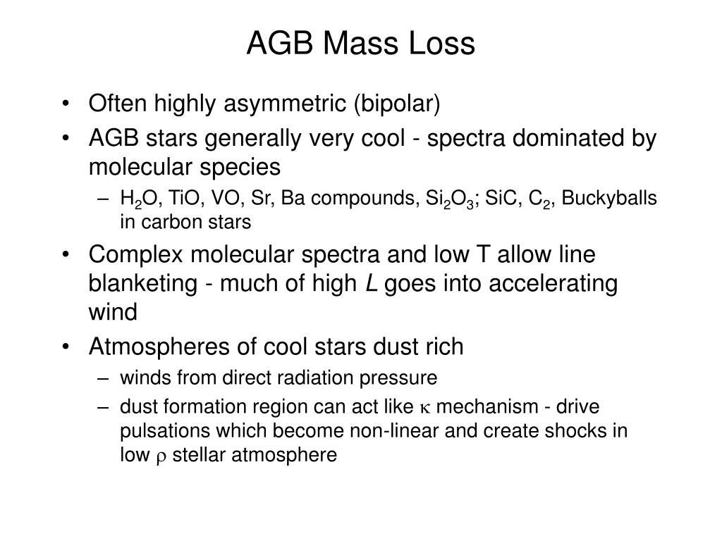 AGB Mass Loss