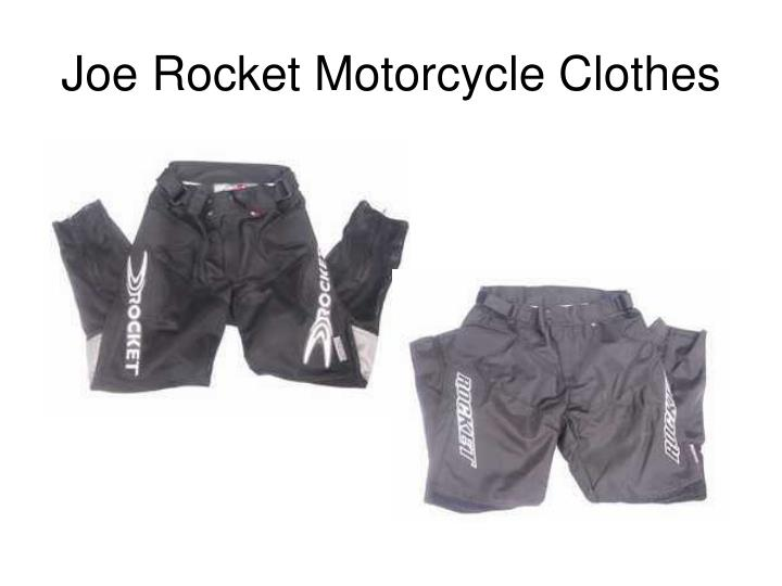 Joe rocket motorcycle clothes2