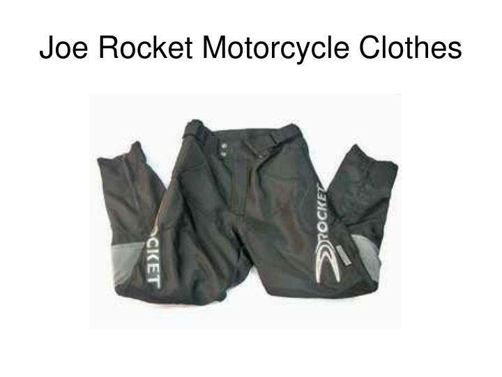 Joe rocket motorcycle clothes3