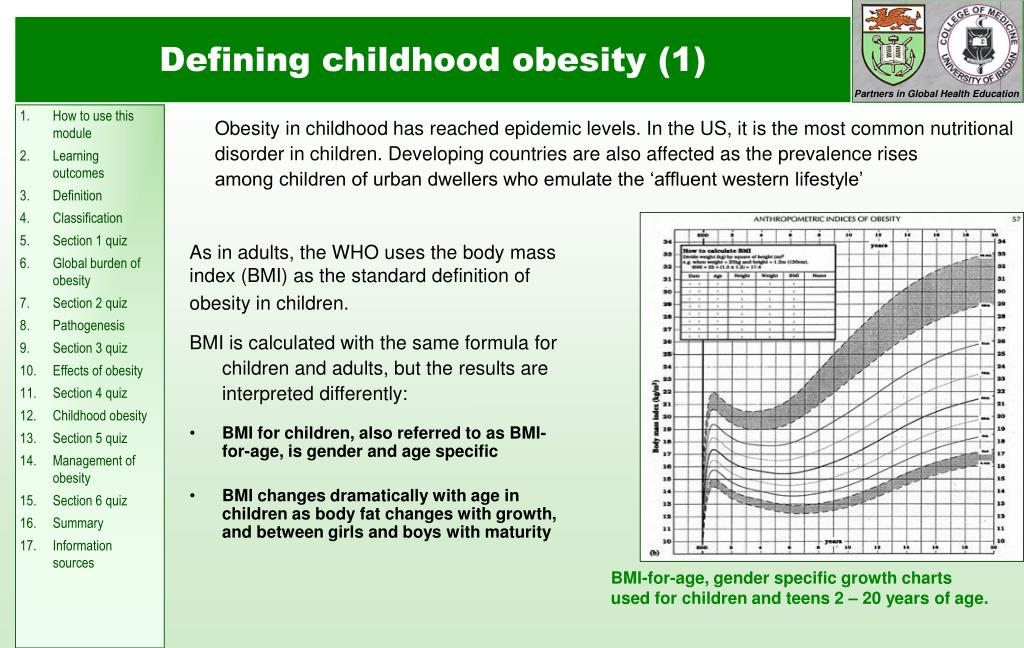 Obesity in childhood has reached epidemic levels. In the US, it is the most common nutritional