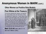 anonymous women in mark cont