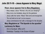 john 20 11 18 jesus appears to mary magd71