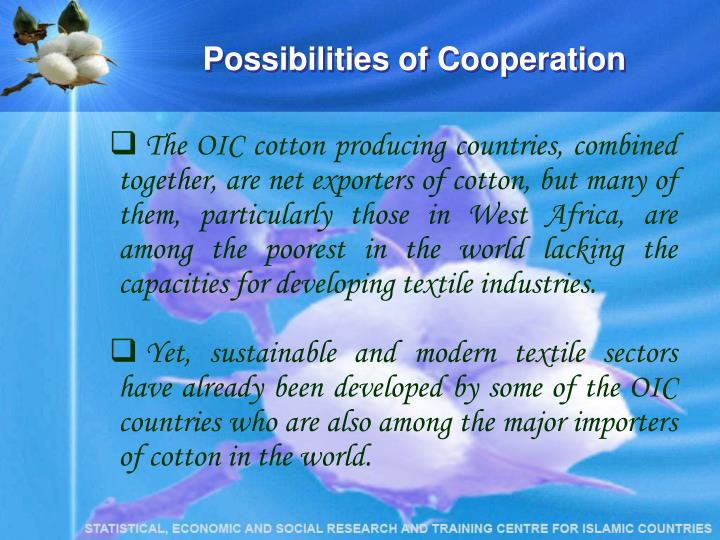 Possibilities of Cooperation